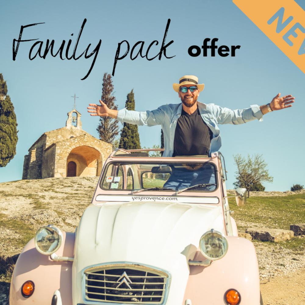 FAMILY PACK offer