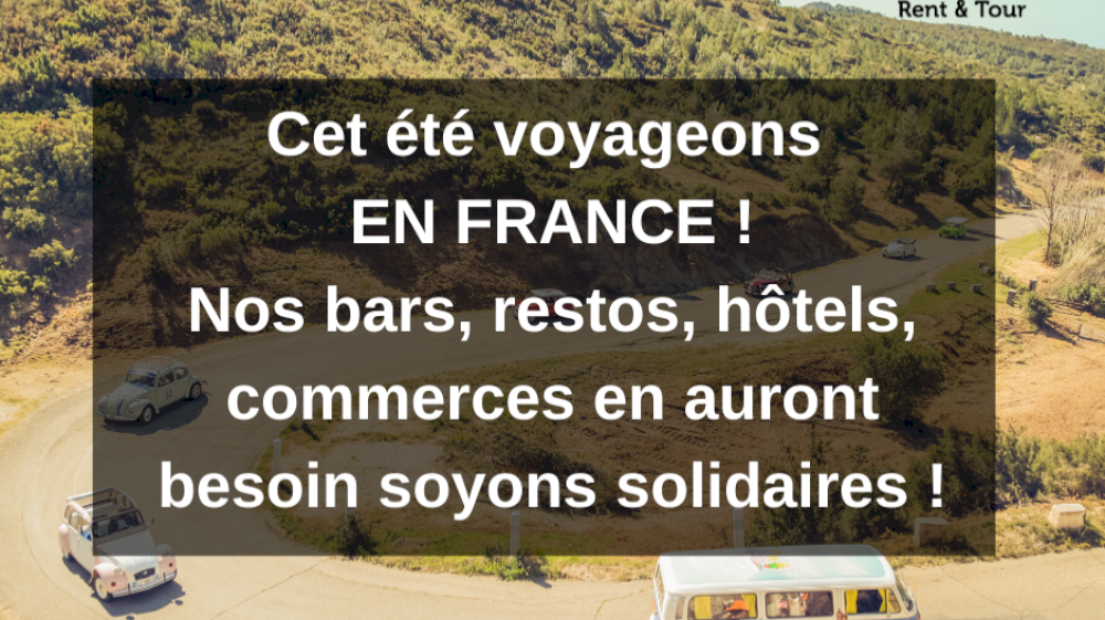 Été 2020, je voyage en France !