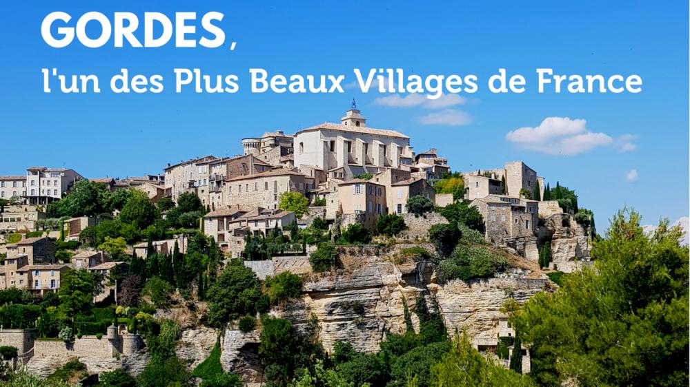 Gordes, l'un des Plus Beaux Villages de France