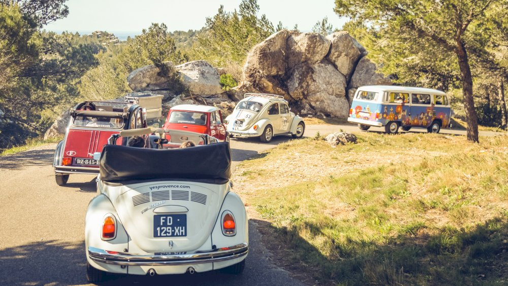 Nos voitures anciennes pour se balader en Provence