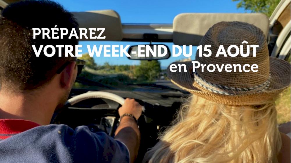Préparez votre week-end du 15 Août en Provence en voitures vintage