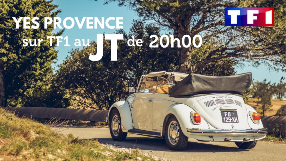 Yes Provence sur TF1 au JT de 20h00