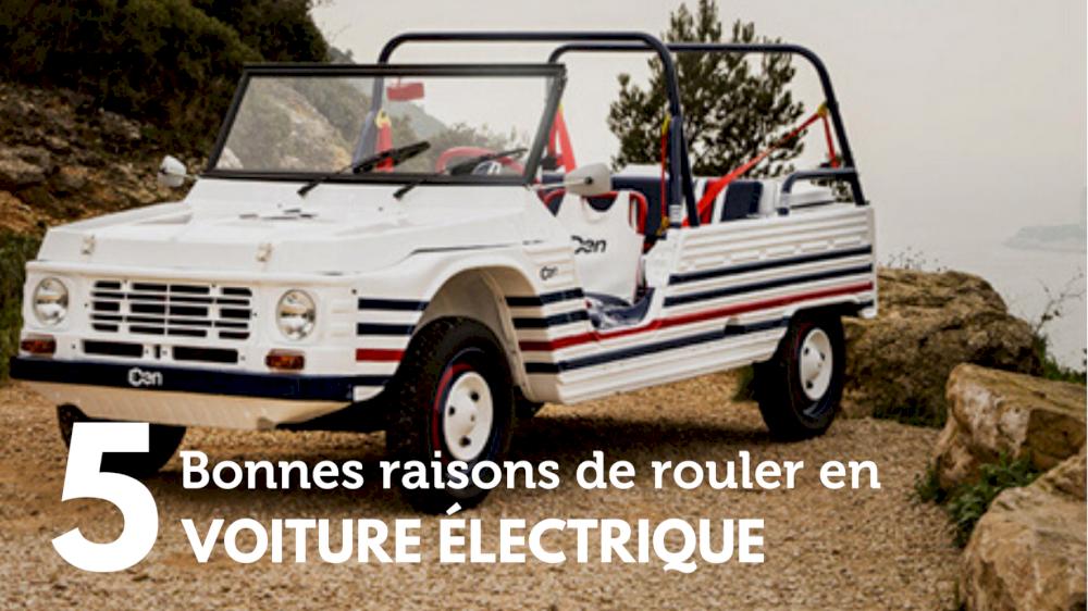 5 Bonnes raisons de rouler en voiture électrique en Provence