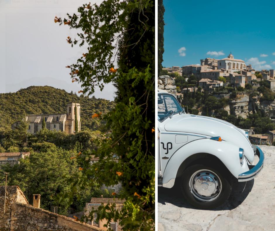 Villages en 2CV en Provence