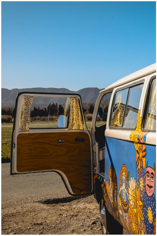 Vacances en Combi Van dans les Alpilles