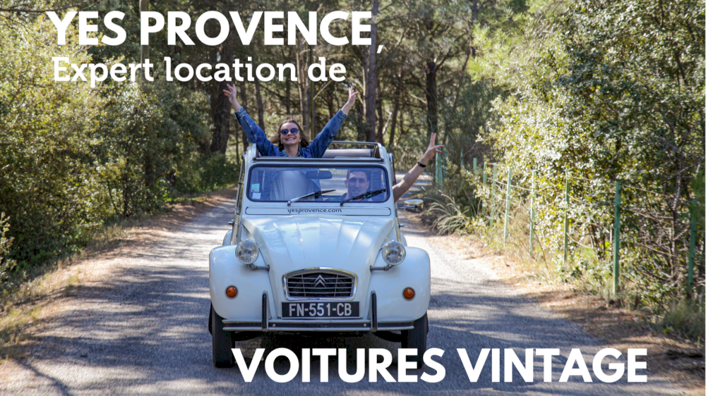 Yes Provence expert location de voitures vintage en Provence