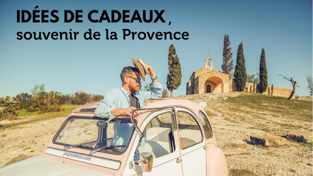 Idées de cadeaux, souvenir de la Provence