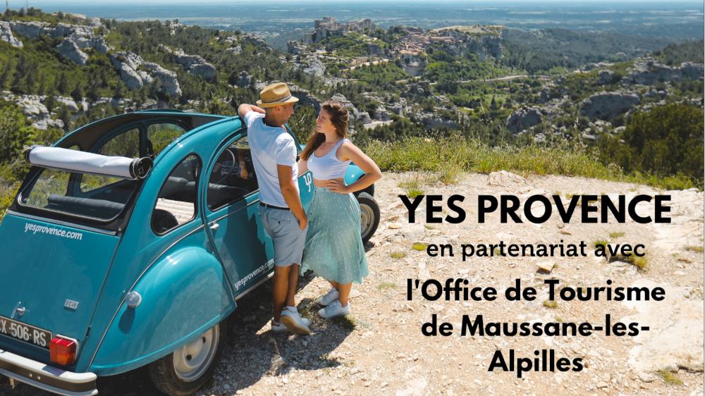L'Office de Tourisme de Maussane-les-Alpilles parle de Yes Provence