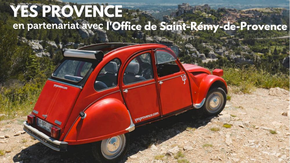 L'Office de Tourisme de Saint-Rémy-de-Provence Parle de Yes Provence