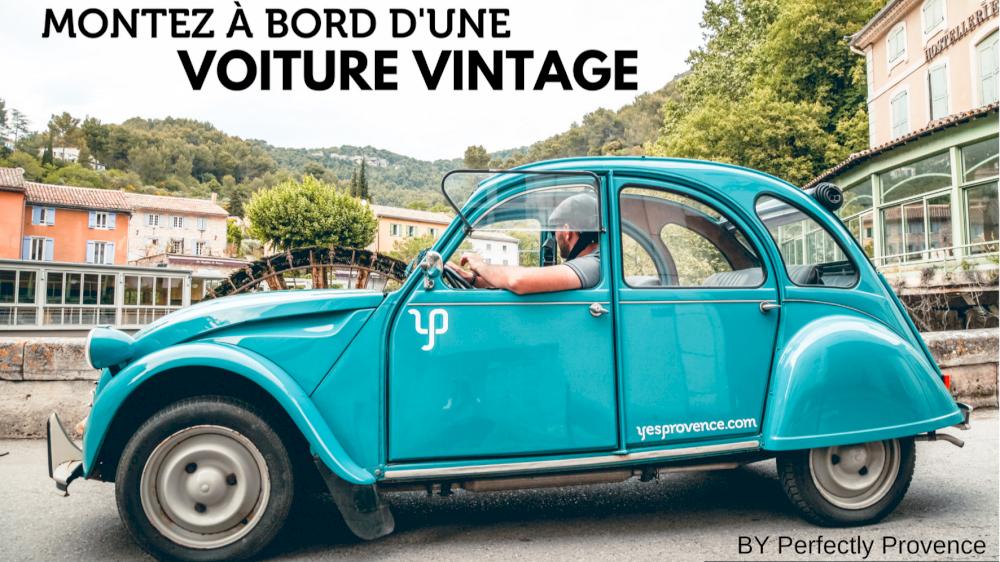 Perfectly Provence a testé pour vous les voitures vintage en location