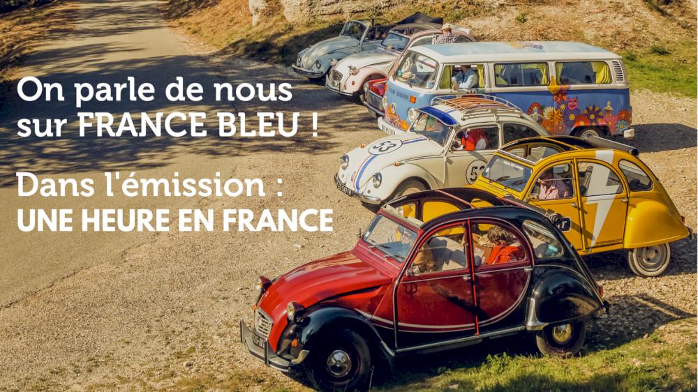 On parle de nous sur France Bleu dans l'emission : Une heure en France