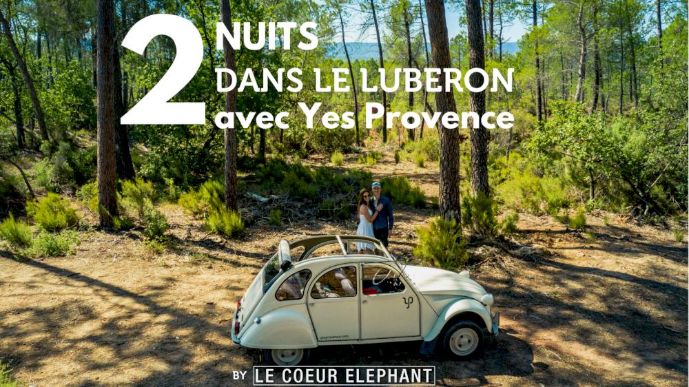 Le Coeur Éléphant parle de nous avec les locations des 2cv en Provence