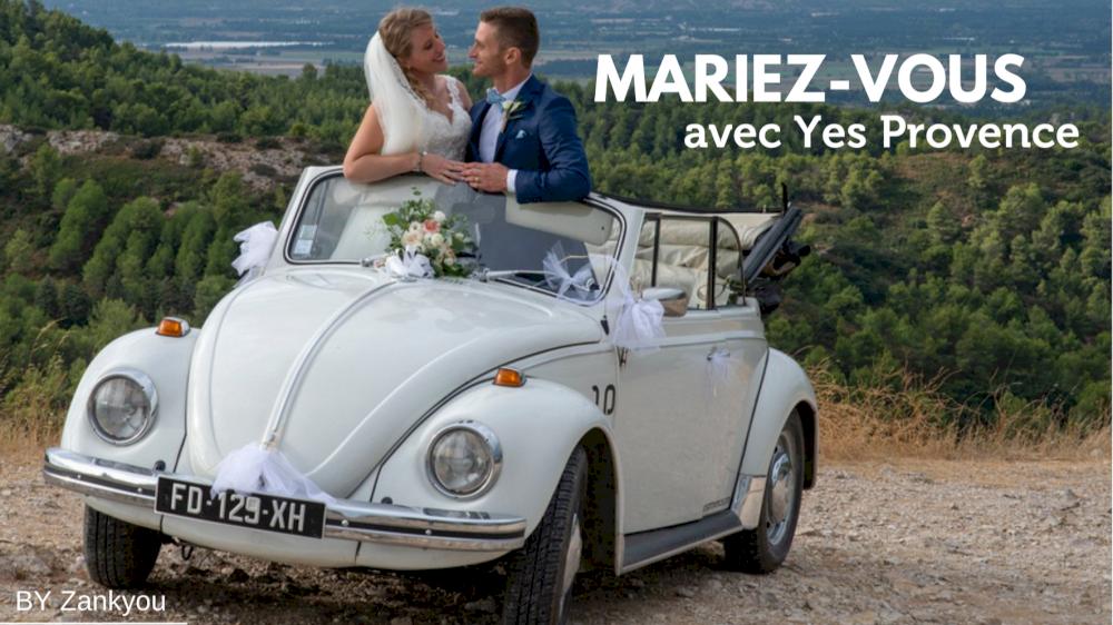 Zankyou parle de nous avec la location de 2cv mariage en Provence