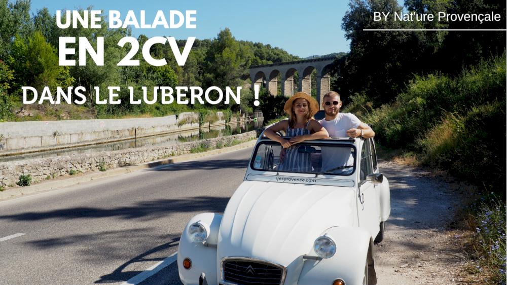 Nat'ure Provençale a testé pour vous la 2cv dans notre belle Provence