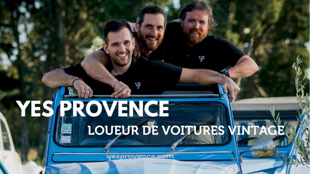 Yes Provence, loueur de voitures vintage en Provence