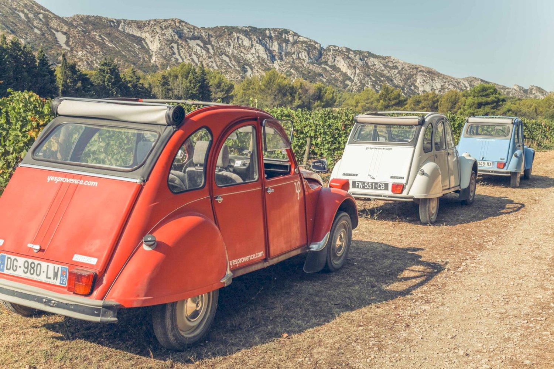 deux chevaux en Provence avec Yes Provence