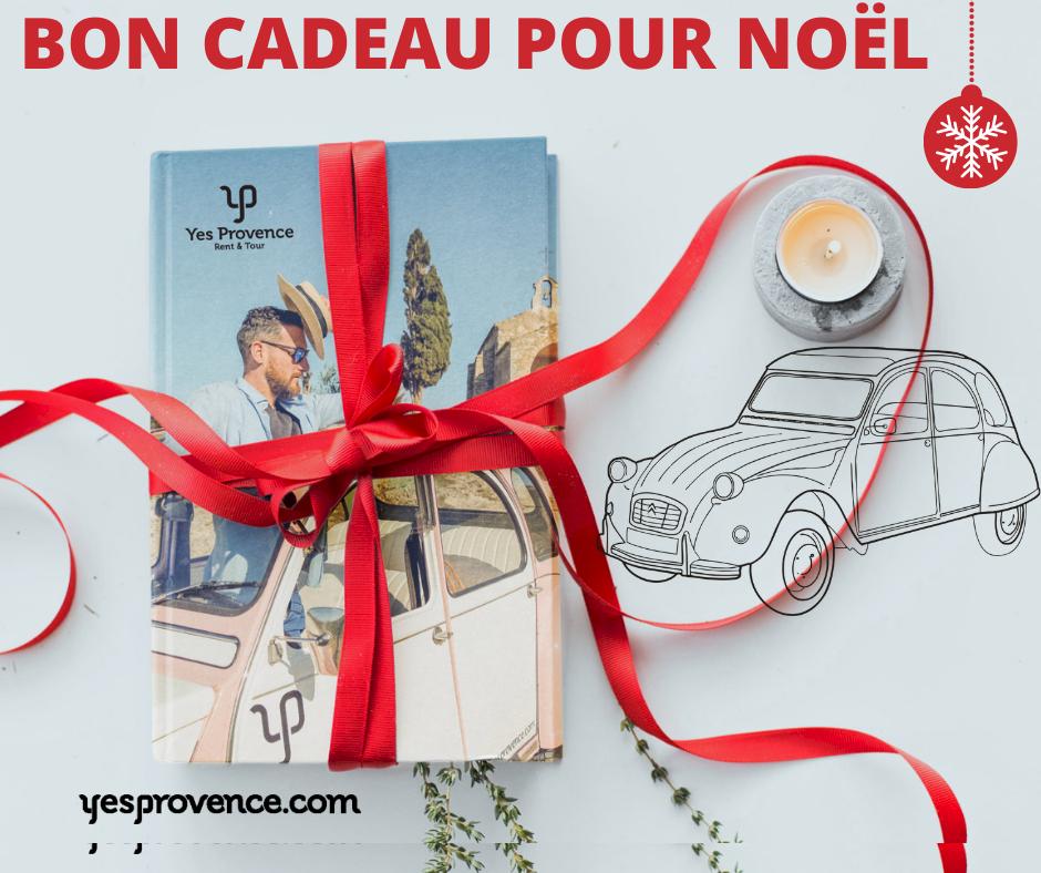 Bon Cadeau Yes Provence location 2cv