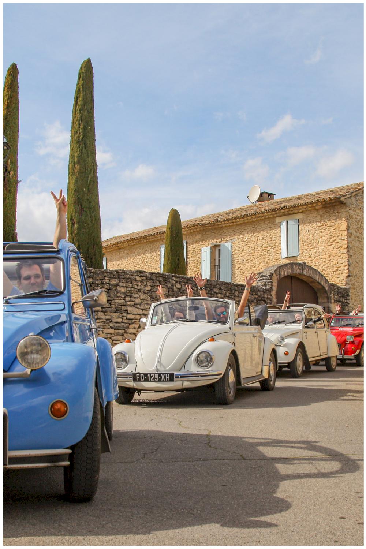 Séminaire - team building en voitures vintage en Provence