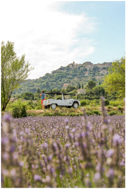 Méhari en Provence