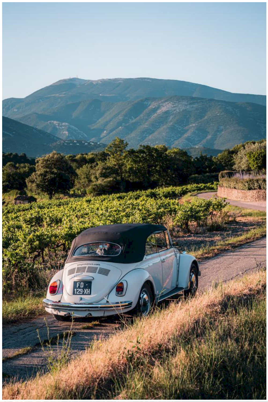 vacances en voiture vintage en Provence