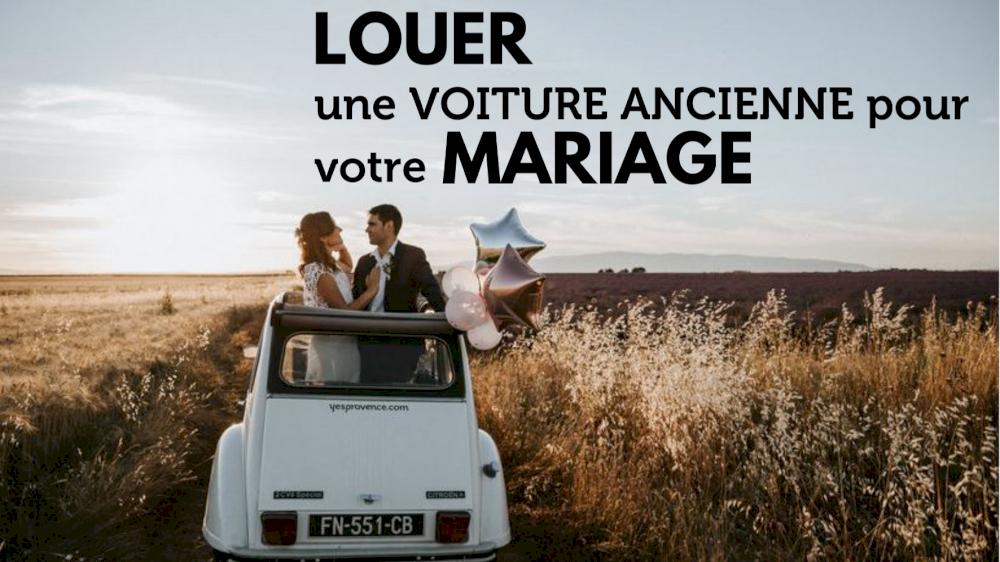 Louez une voiture ancienne pour votre mariage