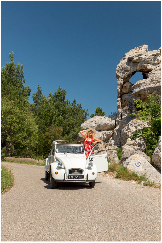 location voiture vintage en Provence