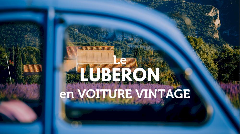 Le Luberon en voiture vintage
