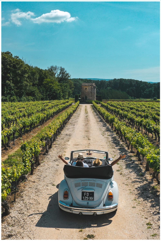 Visiter la Provence en voiture vintage