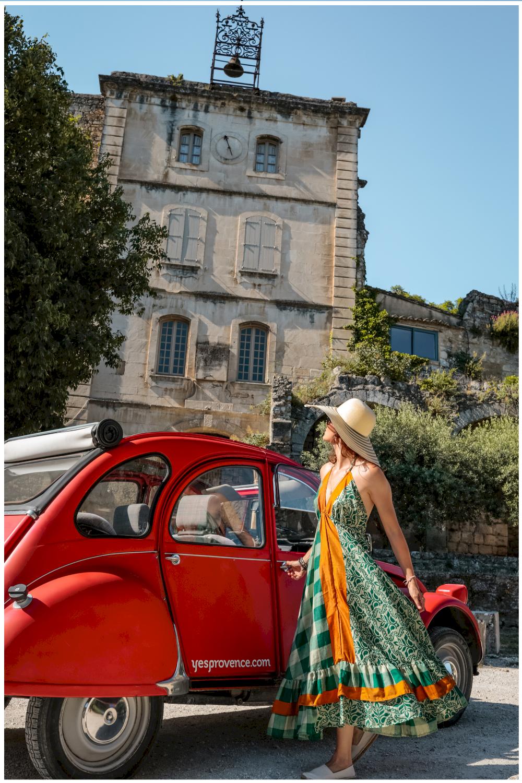 Location de voiture vintage dans le Luberon