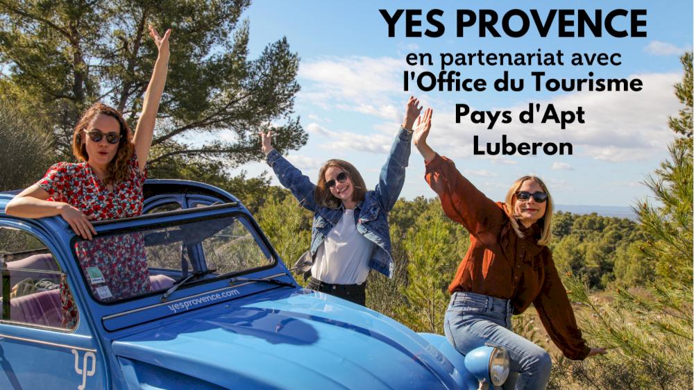 L'Office de tourisme de Pays d'Apt Luberon parle de nous