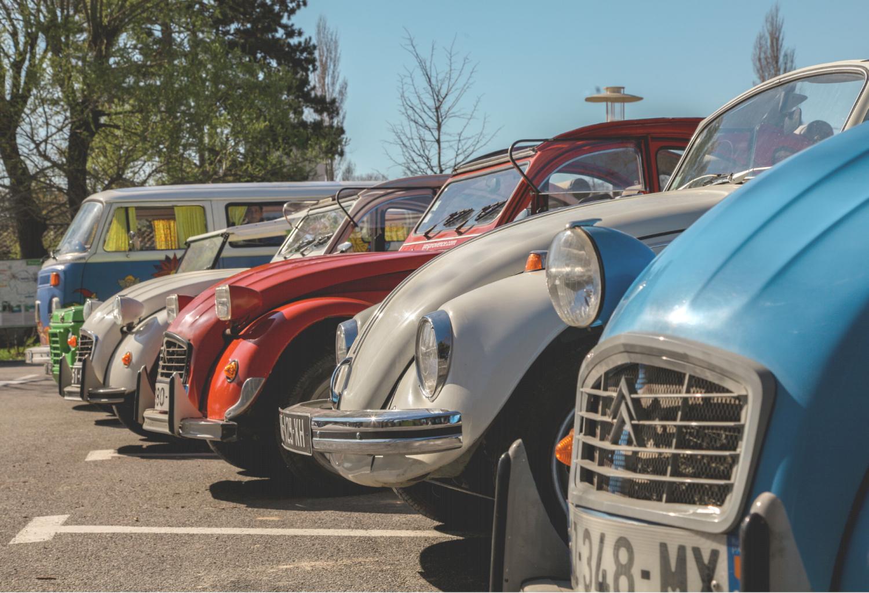 Location de voitures vintage en Provence