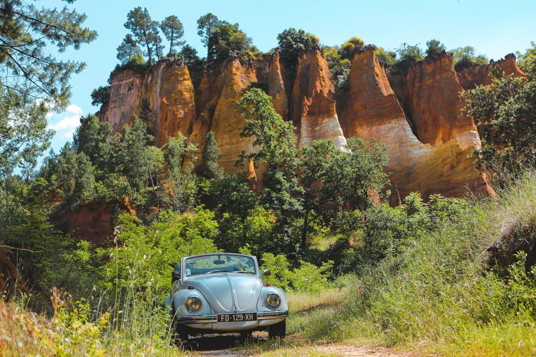 Location de voiture vintage en Provence