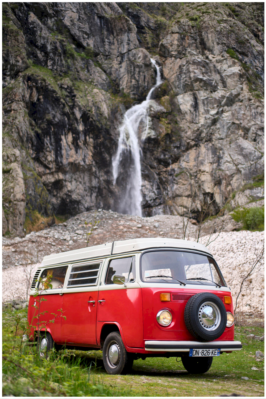 Vacances en Combi Van en Provence