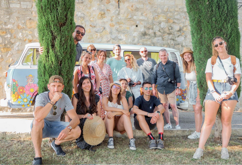 La Provence en Combi Van