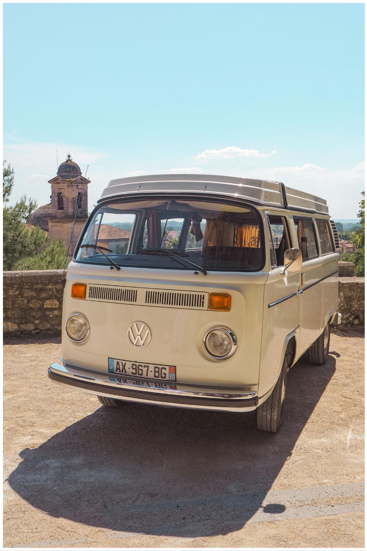 Road trip en Provence en voiture vintage